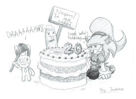 Happy birthday Bijman by Juana-the-Hedchinda