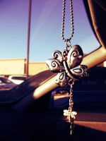 Butterfly Dangly by Bickhamsarah