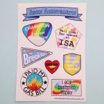 Adult Achievement Stickers by fairy-cakes