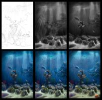 Underwater in process by Azot2015