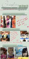 Cosplay MEME 2013 - Projects and resolutionzes! by M00-chan