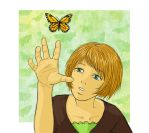 Butterfly-catch by asahi
