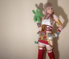 Serah Final Fantasy XIII-2 and Pampa by memoire-hana