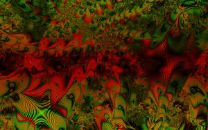 Fractal Visions of Red by PR-Imagery