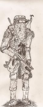 Alpan Soldier by Pyrotactick
