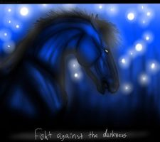 Fight Against The Darkness by AnnMartini