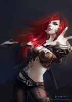 League of Legends katarina by long5009