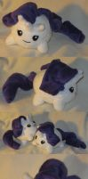 Rarity blob plush by SmellenJR