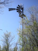 Old Windmill by ArtistStock
