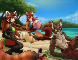 YCH Beach Party colors by Ralloonx by lady-cybercat