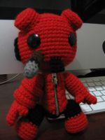 Hellboy Sackboy by anjelicimp