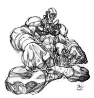 Dhalsim by MarioPons