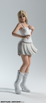 DOA5 Marie Rose in Namine Re-born (customize) by bstylez