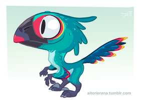 Little Raptor by TerminAitor