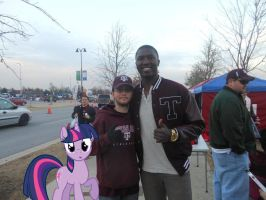 Me with Jerrod Johnson and Twilight by RarityLuver214