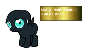 mlp base 22 Shy pony by monkeystar290