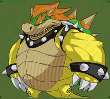 Minecraft - EPIC Bowser by luk01