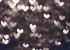 Hearts Bokeh by bluezircon-graphics