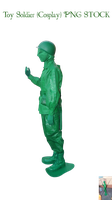 Toy Soldier (Cosplay) PNG STOCK by KarahRobinson-Art