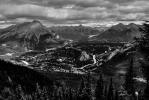 Town of Banff by Qels