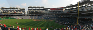 Nationals Park Outfield View by kkworker