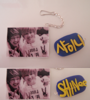 SHINee's keyChain by NaeByeol