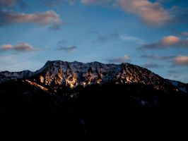 Evening mountais by Limited-Vision-Stock
