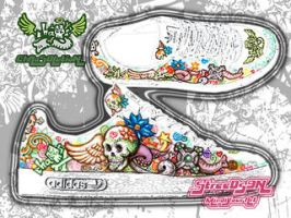 shoe design - chaosadicolor by chaosolution