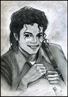 Michael Jackson's smile by JennieLuv
