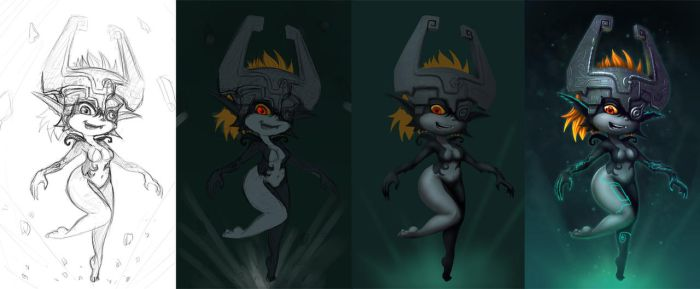 Midna WIP by 14-bis