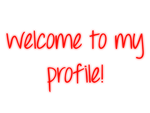 Welcome To My Profile - Red - Mossy's Graphics by MossyMyBaby