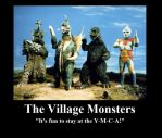 The Village Monsters by Hehlfire