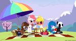 Five Nights picnic by lizzy-dark-rose