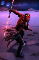 Darth Maul Colors by nahp75