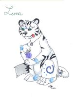 Meet the characters: Luna by BlueLumi