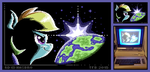 SpaceDash64 -pixelart- by Tobibrocki