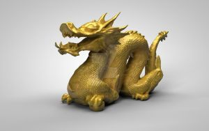 The Golden Dragon Remake by TheOneAndOnlyCreator