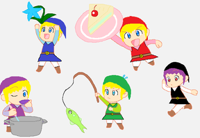 The 5 Links by slygirl1999