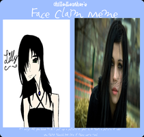 Face Claim Meme- Lilly by TorturousDreams