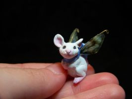 tiny fairy mouse by AmandaKathryn