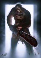 Leatherface Speedpainting by Disse86