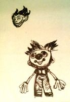 Commexo Kid Sketch by CliveBarker