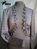 Houndstooth bolero by masque242