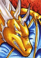 NerielTheDragon ACEO by Natoli