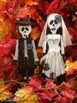 Halloween Bride n Groom 01 by aradevon