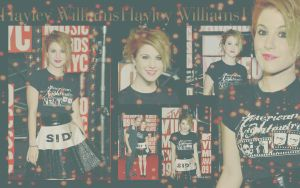 Hayley Williams Wallpaper by rahrahmonster
