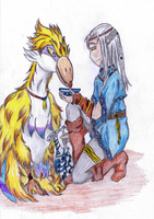 Owlan and Loftwing by cathanupto
