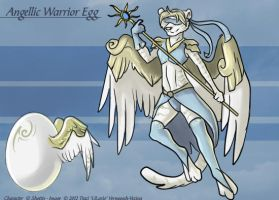 Angellic Warrior Egg - Adoptable by Ulario