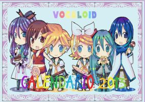 .:Calendario Vocaloid:. by JuLyGoOd