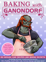Baking with Ganondorf by tavington